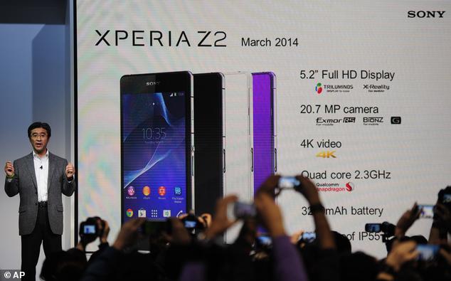Sony Showcases HD Video Recording Phone