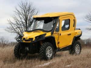 Fully Accessorized Cab Kit For Can Am Commander