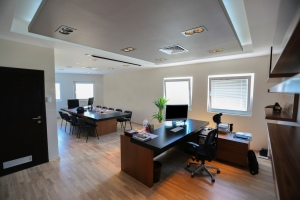 Modern office fitout