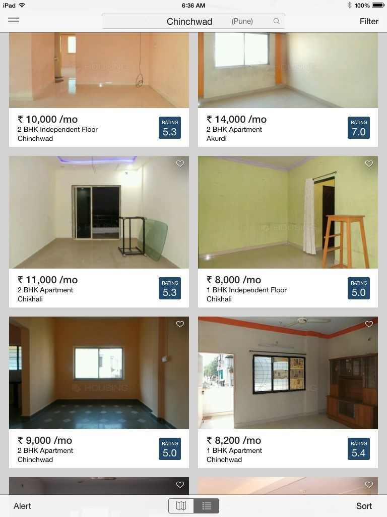 Finding Properties On A Mobile Platform