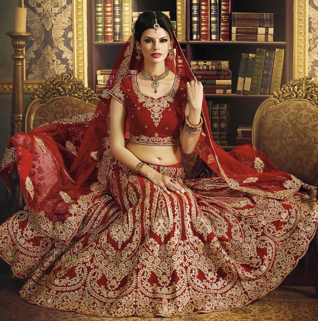 Lehenga- Where To Find Bridal Lehengas In Delhi