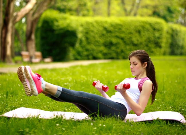 Stomach exercises After Pregnancy