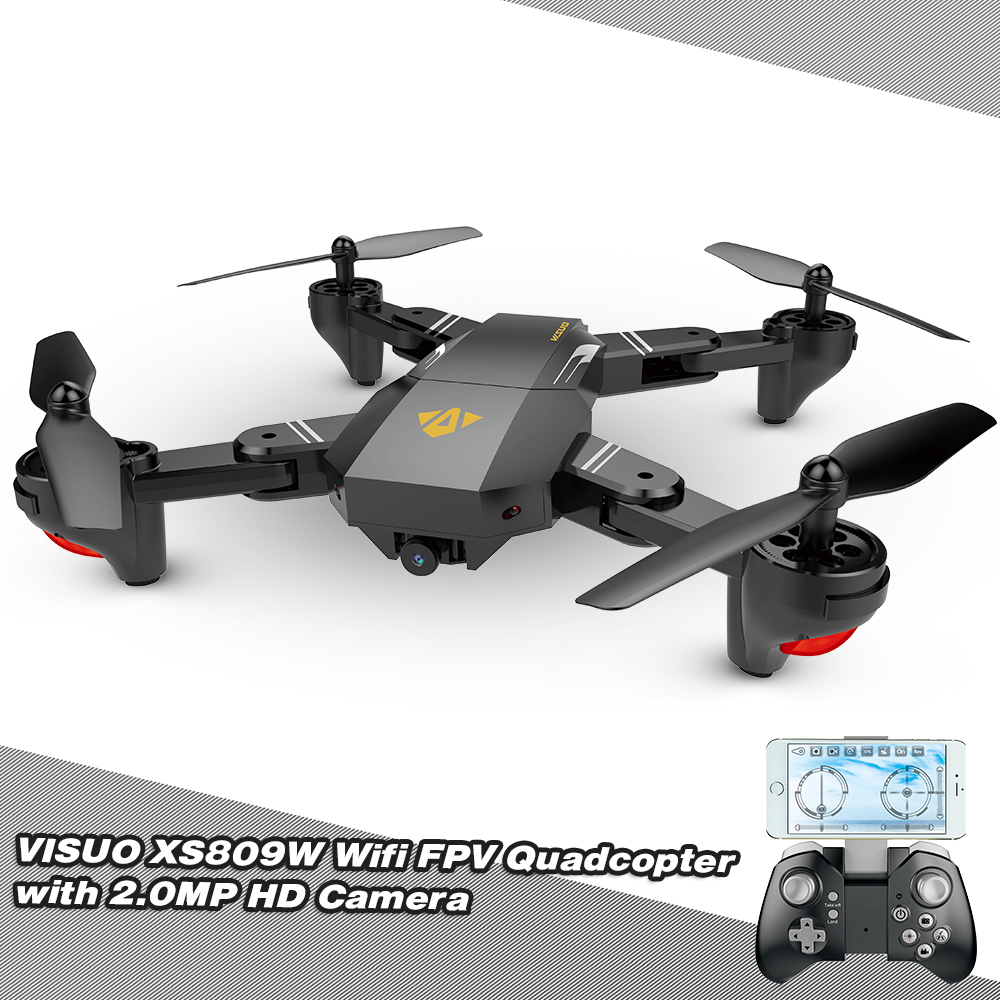 VISUO XS809HW Wifi FPV 2.0MP 720P 120° FOV Wide Angle HD Camera