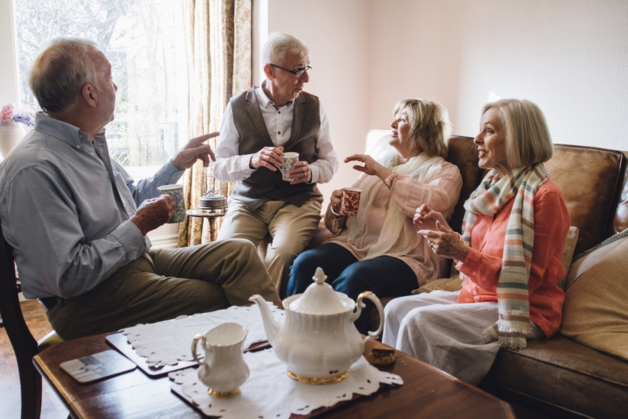 5 Types Of People You Will Meet At A Senior Living Community