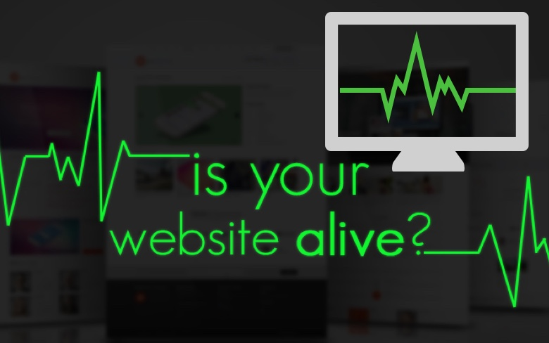 is your website alive