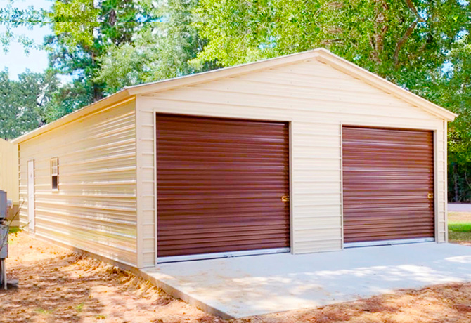 Turn Your Metal Garages Into Home office