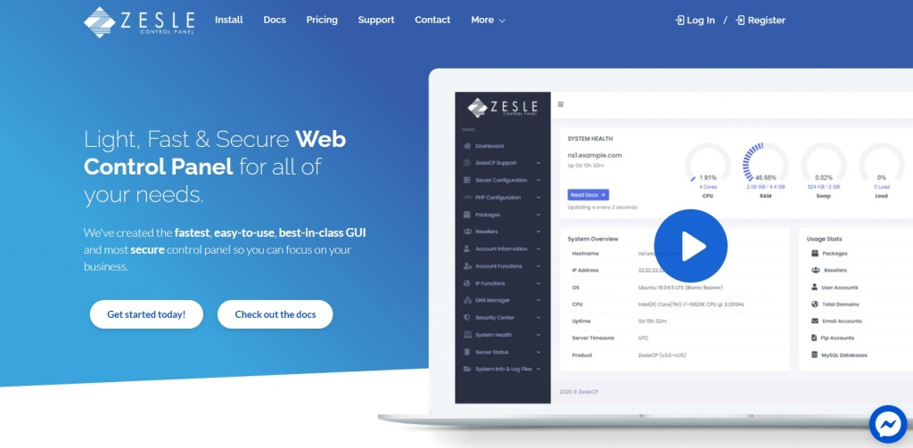 8 Best Web Hosting Control Panel In 2021